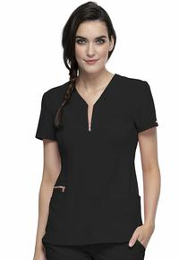 Top by Cherokee Uniforms, Style: CK876-BLK